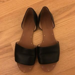 Madewell D'orsay open toe
